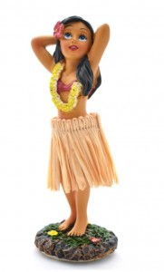 HULA DOLL girl nr 795 m
