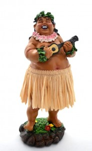 HULA DOLL  LEILANI BOY    nr 629 XL